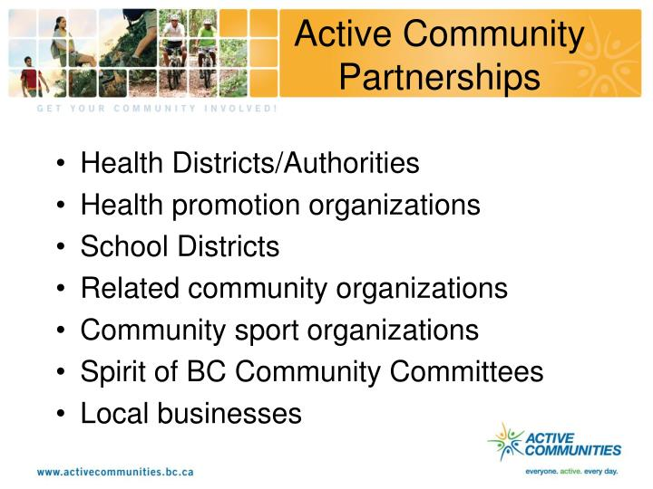 Active Community Partnerships