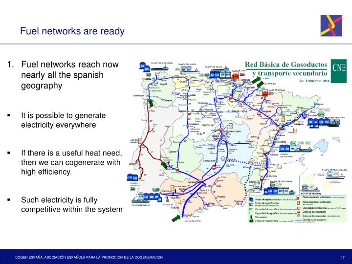 Fuel networks are ready