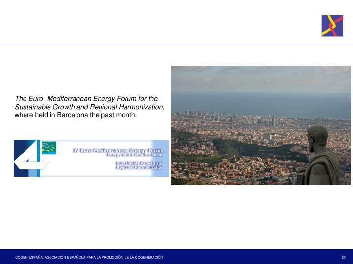 The Euro- Mediterranean Energy Forum for the Sustainable Growth and Regional Harmonization