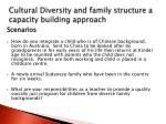 cultural diversity and family structure a capacity building approach1