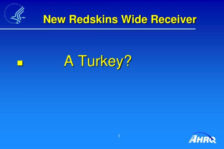 New redskins wide receiver
