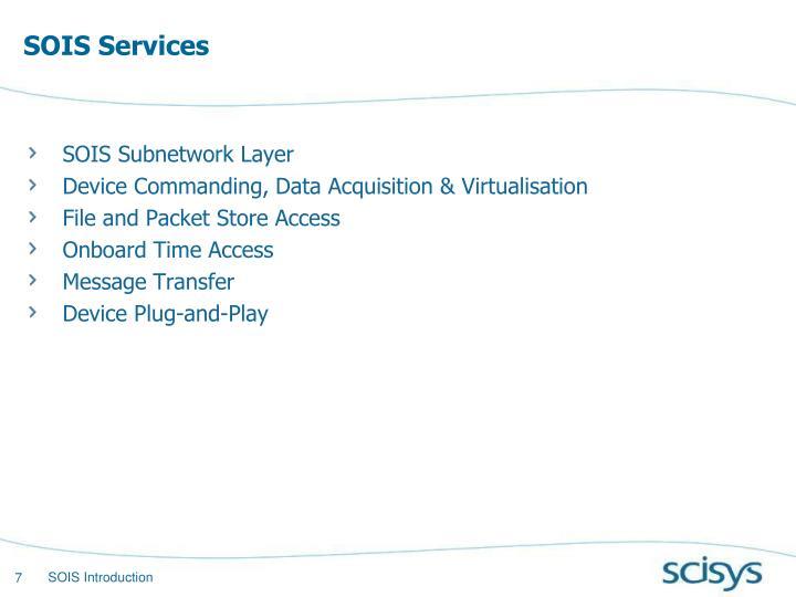 SOIS Services