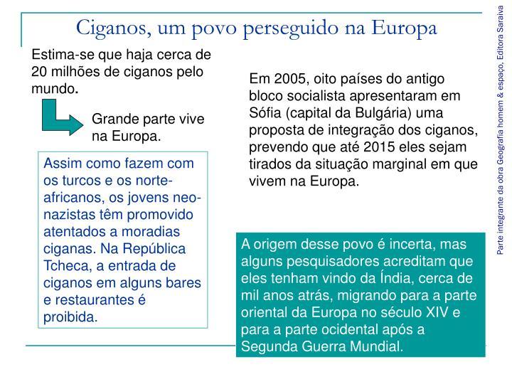 Ciganos, um povo perseguido na Europa