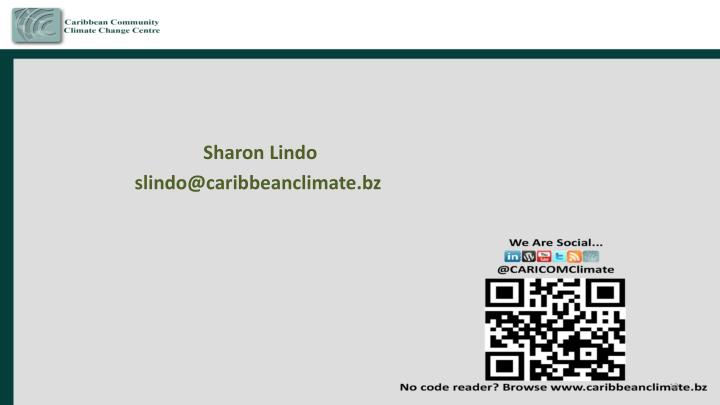 Sharon Lindo