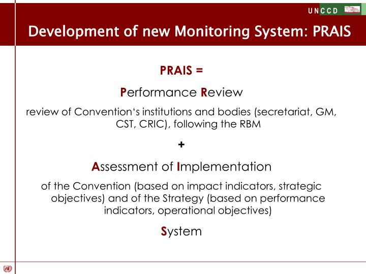 Development of new Monitoring System: PRAIS