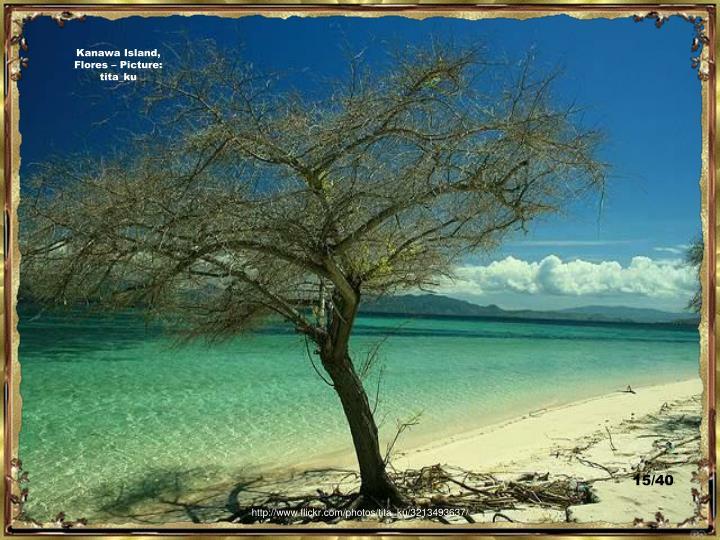 Kanawa Island, Flores – Picture:  tita_ku