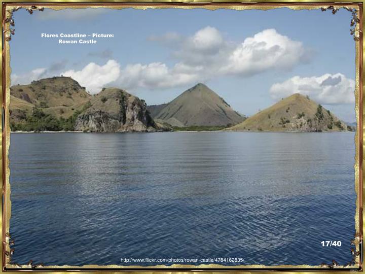 Flores Coastline – Picture:  Rowan Castle