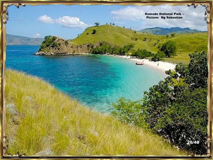 Komodo National Park – Picture:  Ng Sebastian