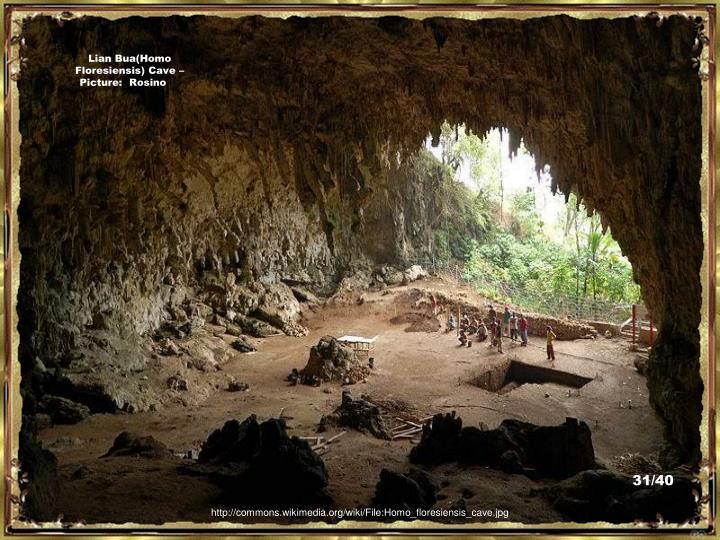 Lian Bua(Homo Floresiensis) Cave – Picture:  Rosino
