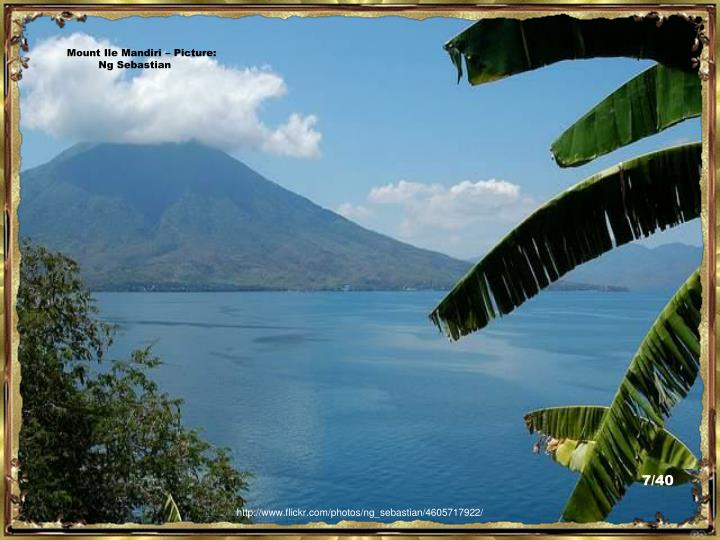 Mount Ile Mandiri – Picture:  Ng Sebastian