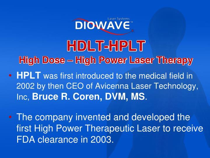 HDLT-HPLT