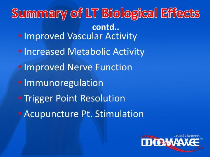 Summary of LT Biological