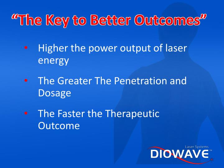 """""""The Key to Better Outcomes"""""""
