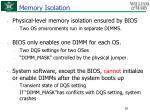 memory isolation1