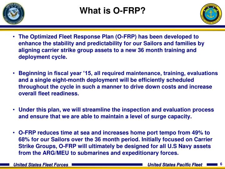 What is O-FRP?