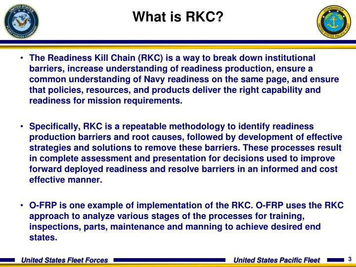 What is RKC?