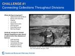 challenge 1 connecting collections throughout divisions