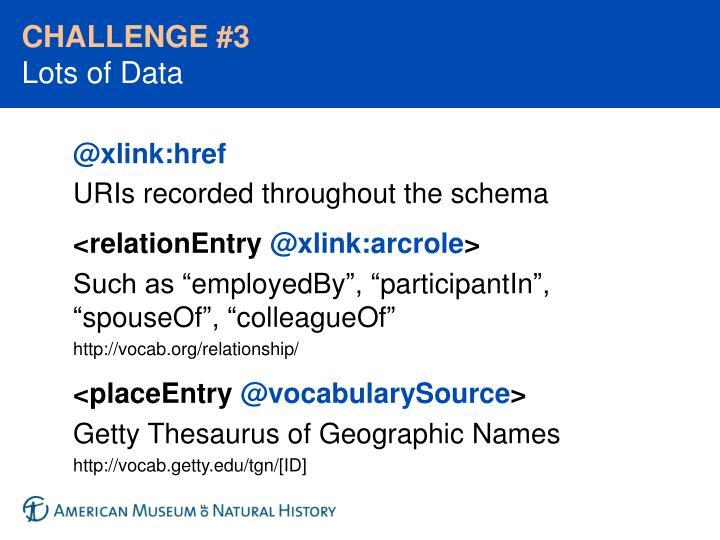 CHALLENGE #3