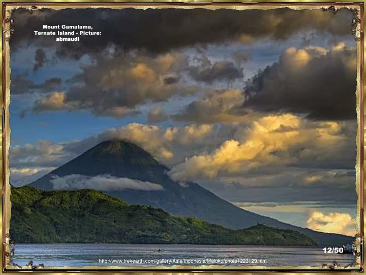 Mount Gamalama, Ternate Island - Picture: