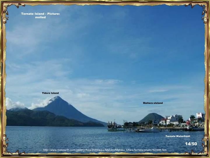 Ternate Island - Picture:  molied