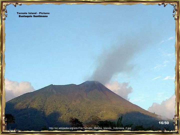 Ternate Island - Picture: