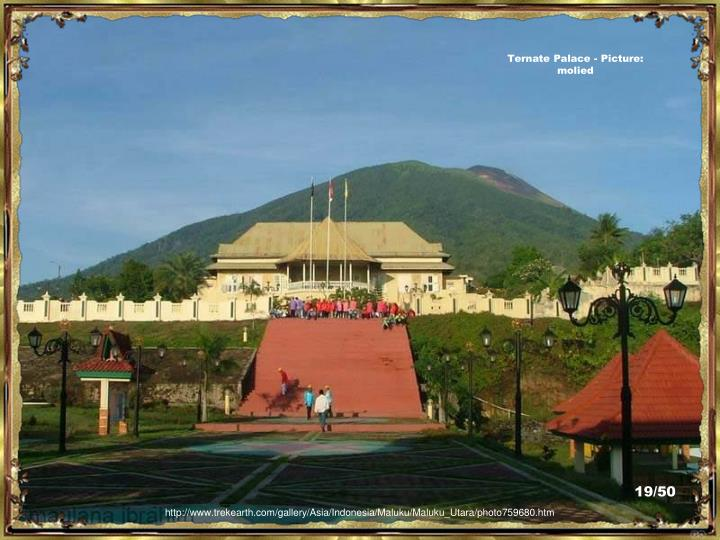 Ternate Palace - Picture:  molied