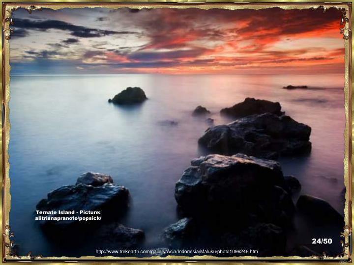 Ternate Island - Picture:  alitrisnapranoto/popsick/