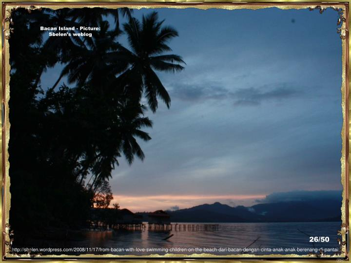 Bacan Island - Picture:  Sbelen's weblog