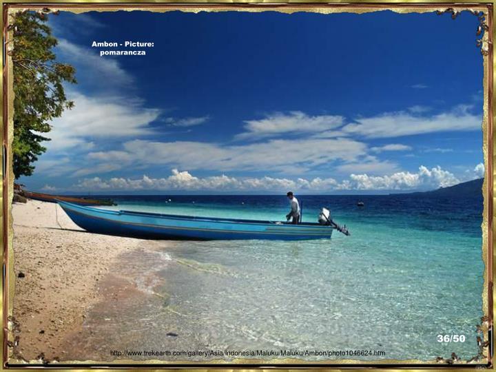Ambon - Picture:  pomarancza