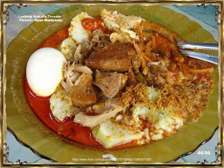 Lontong Ikan ala Ternate - Picture: