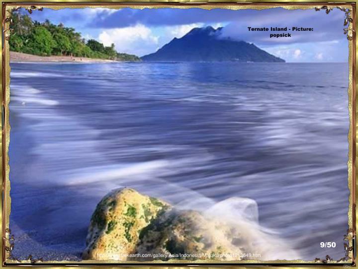 Ternate Island - Picture:  popsick