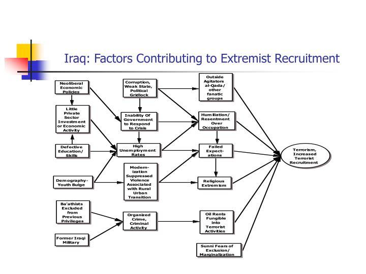 Iraq: Factors Contributing to Extremist Recruitment