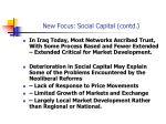 new focus social capital contd