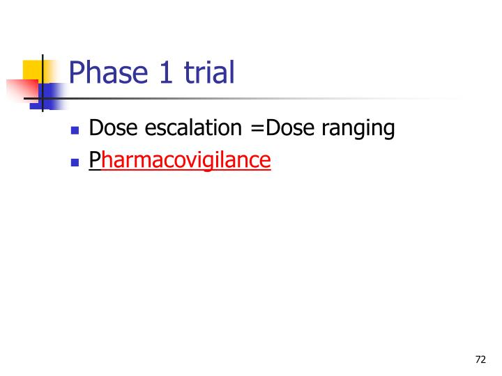 Phase 1 trial