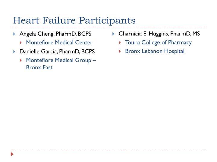 Heart Failure Participants