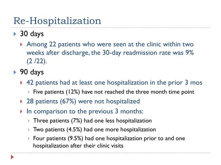 Re-Hospitalization