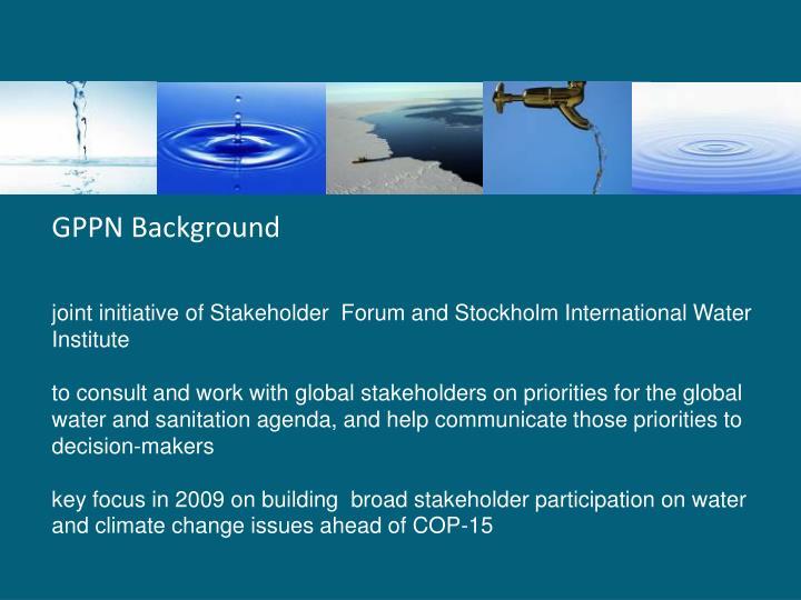 GPPN Background