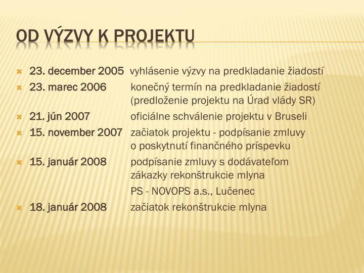 23. december 2005