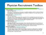 physician recruitment toolbox