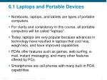 6 1 laptops and portable devices