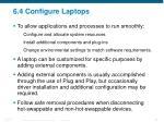6 4 configure laptops