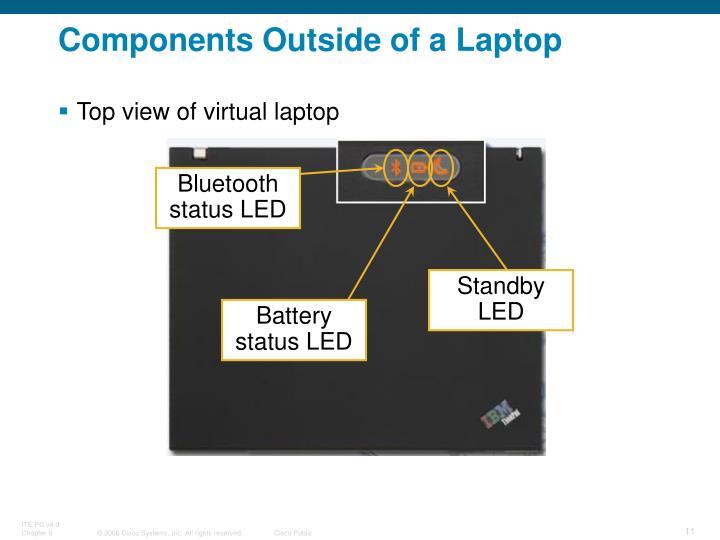 Bluetooth status LED