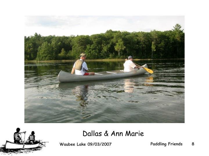 Dallas & Ann Marie