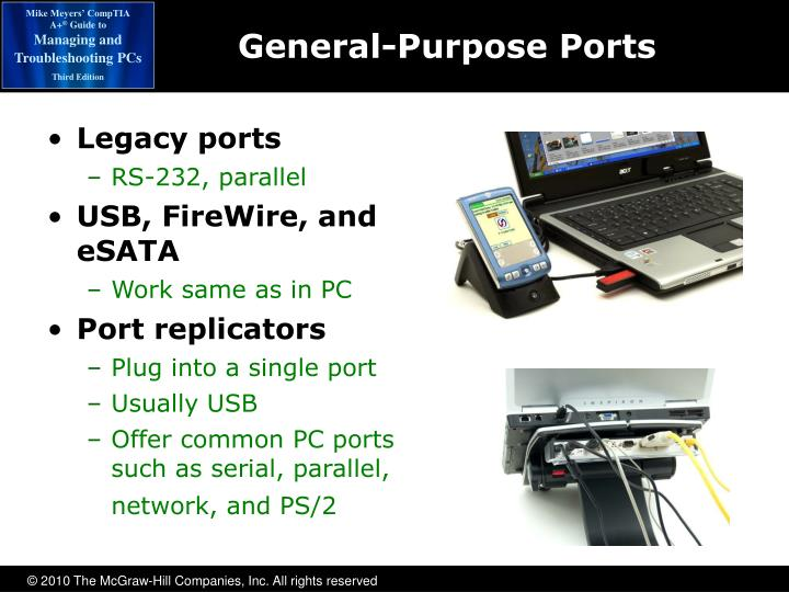Legacy ports