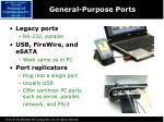 general purpose ports