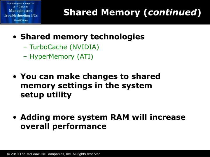 Shared Memory (