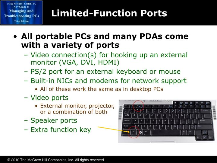 Limited-Function Ports