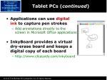 tablet pcs continued1
