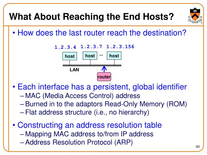 What About Reaching the End Hosts?