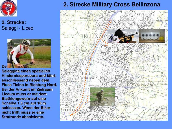 2. Strecke Military Cross Bellinzona